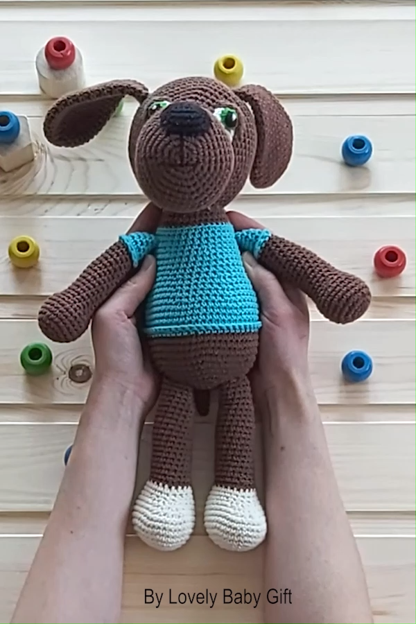 Photo of Crochet Dog Amigurumi Pattern