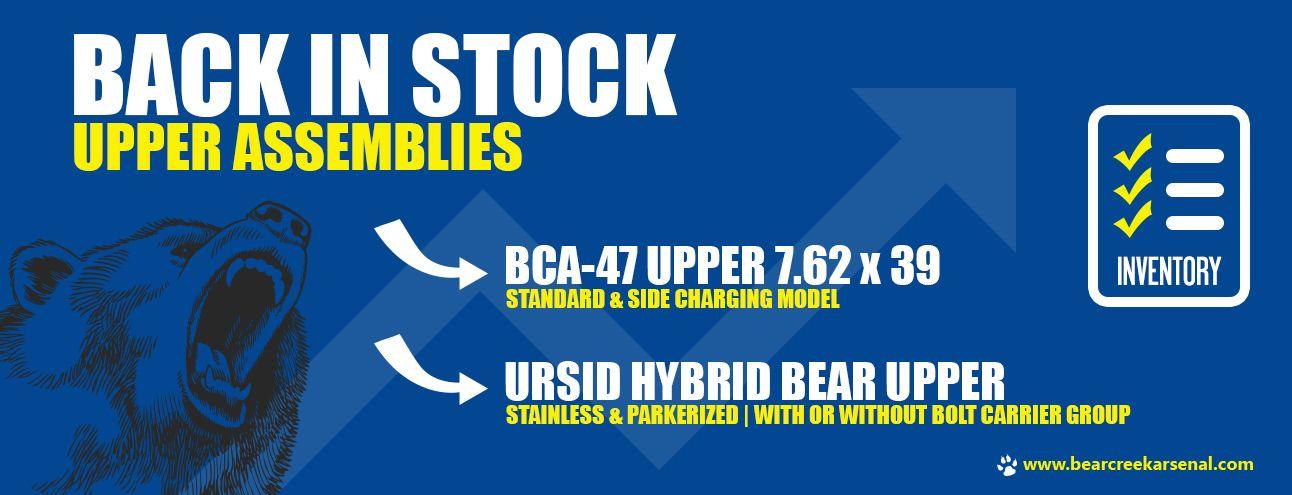 Complete Upper Assemblies | Bear Creek Arsenal Sales