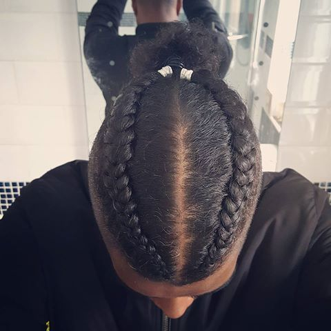Image Result For French Braids For Men Braided Hairstyles French Braids Men Mens Braids Hairstyles