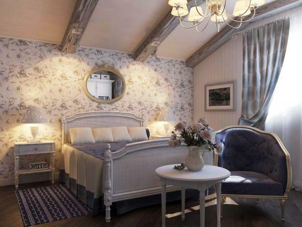 Muster Schlafzimmer ~ Tapete mit muster wird den raum einzigartiger erscheinen lassen