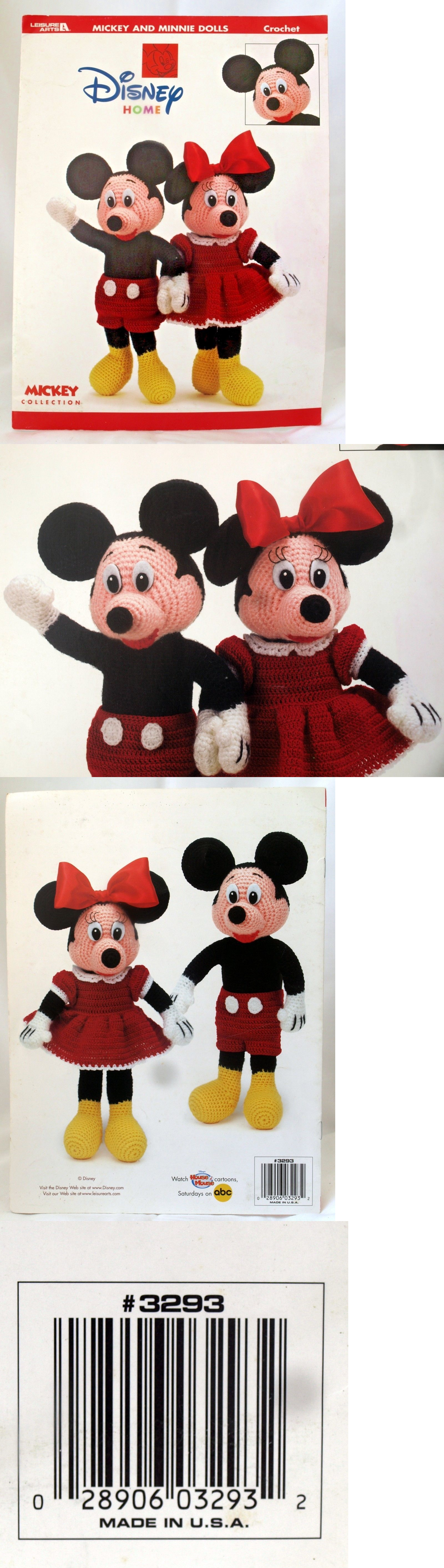 Patterns contemporary 41228 mickey and minnie mouse dolls walt patterns contemporary 41228 mickey and minnie mouse dolls walt disney world home crochet patterns bankloansurffo Choice Image