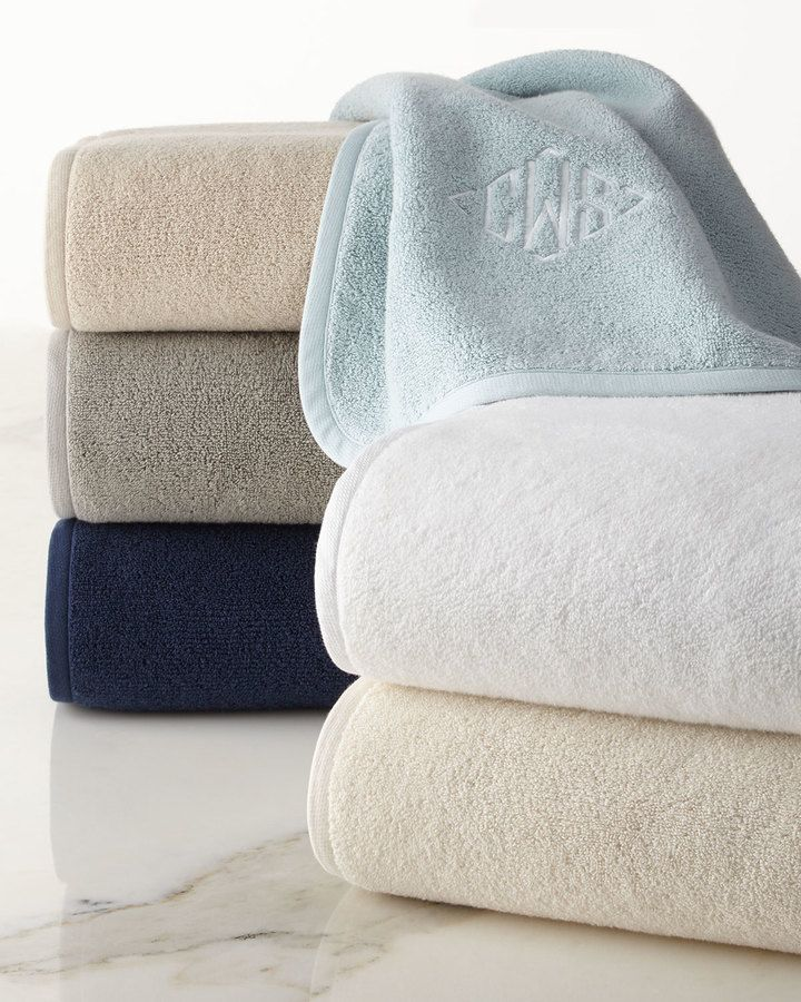 Ralph Lauren Bath Sheet Monogramed Towels For The Newlyweds Subtle Ralph Lauren Bath