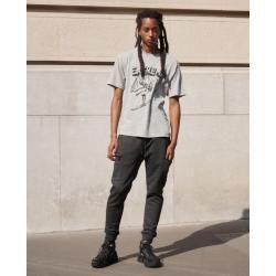 Photo of The Kooples gray printed cotton t-shirt – Damenthekooples.com