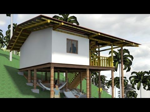 Casa ind gena palafitica en madera y bamb guadua youtube arquitectura pinterest casas - Youtube casas de madera ...