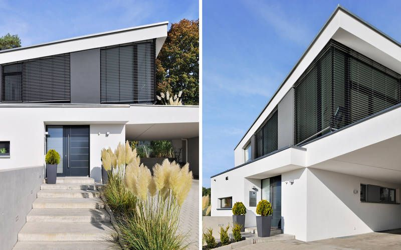 Einfamilienhaus neubau pultdach  1011 Einfamilienhaus, Neubau | a.punkt architekten | Haus ...