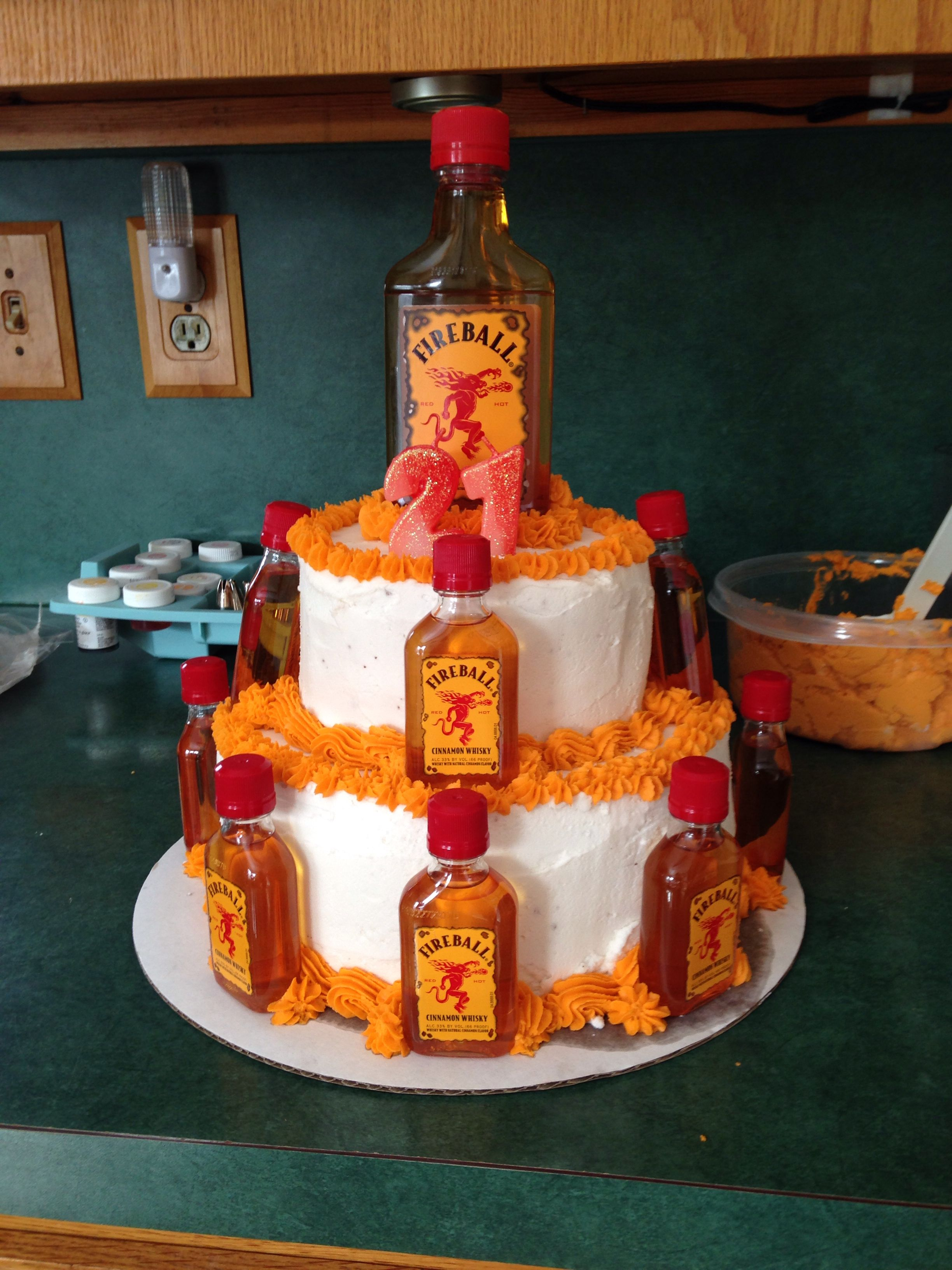Fireball Cake Rachel Schelhaas Is Basically Amazing Love This
