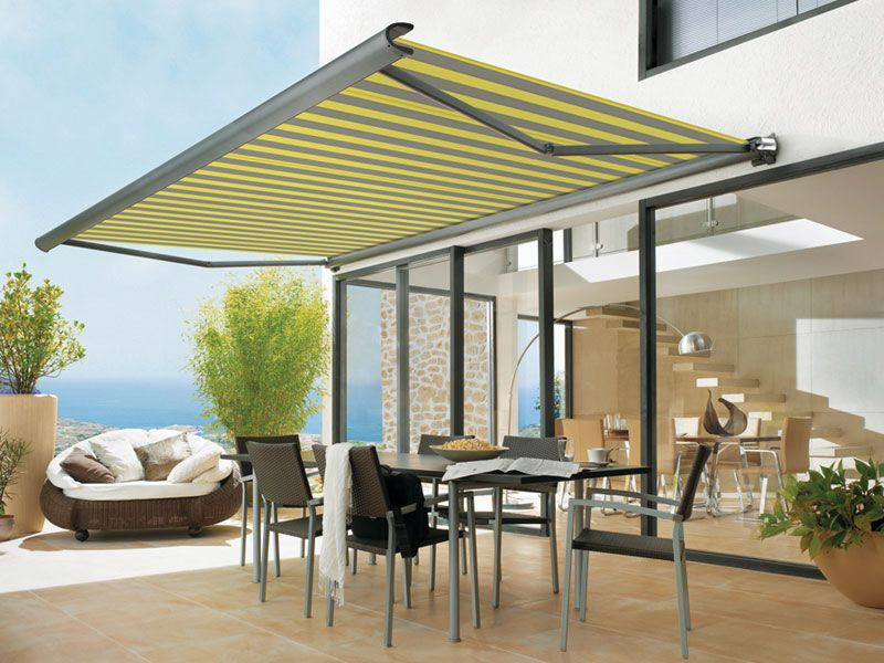 Minimalist And Stylish See How A Cordula Awning Has Transformed This Outdoor Space Http Www Cordula Co Uk Retractable Awning Patio Shade Awning