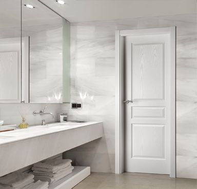 Puertas lacadas en blanco puertas y armarios benidorm - Puertas blancas de interior ...
