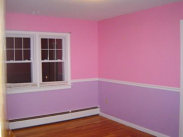 1 2 Pink 1 2 Purple Maryssa S Room Girls Room Paint Kids Room