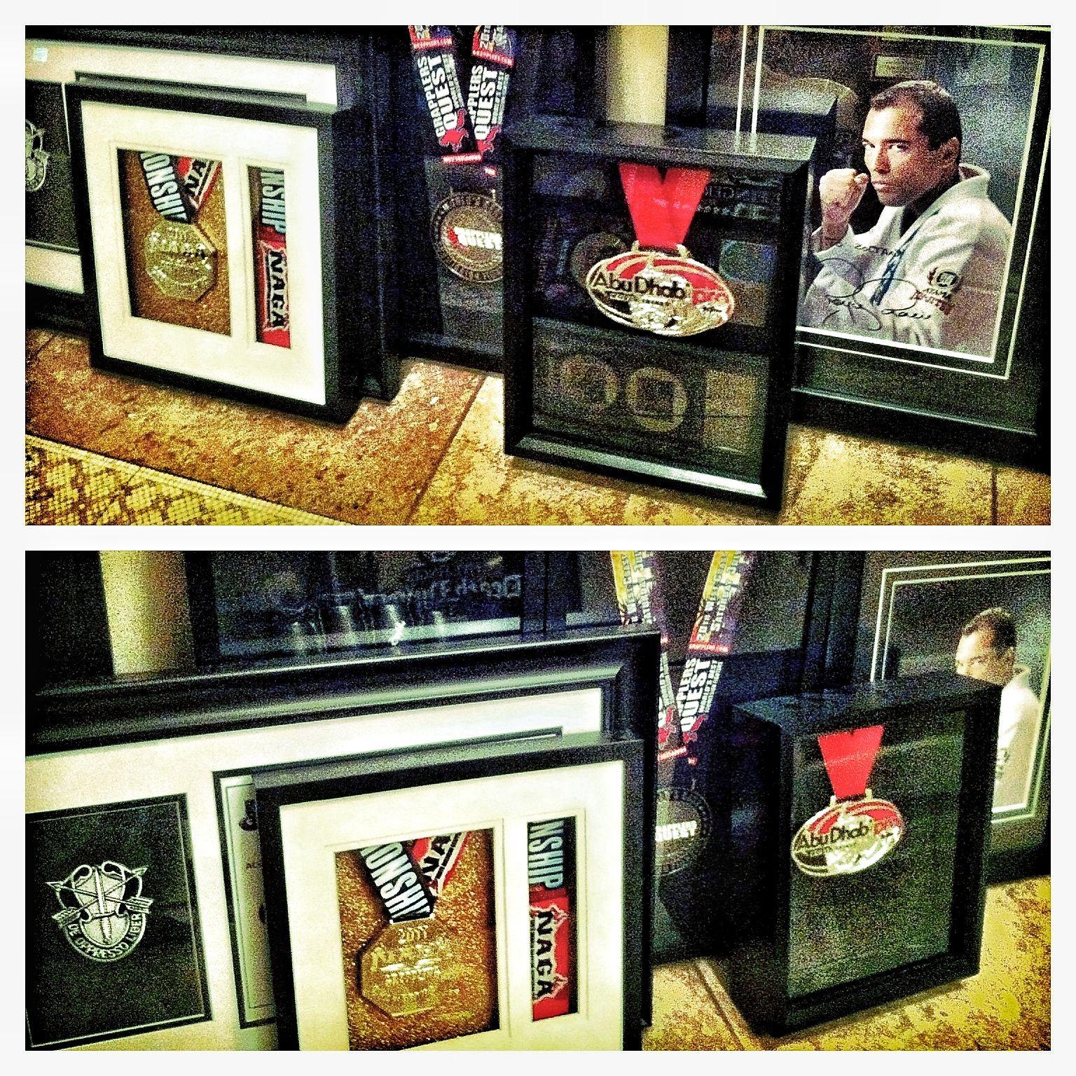 Zoltan Bathory - of Five Finger Death Punch - Jiu-Jitsu Medals