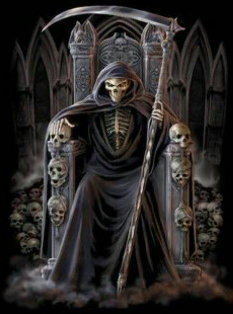 Black reaper.