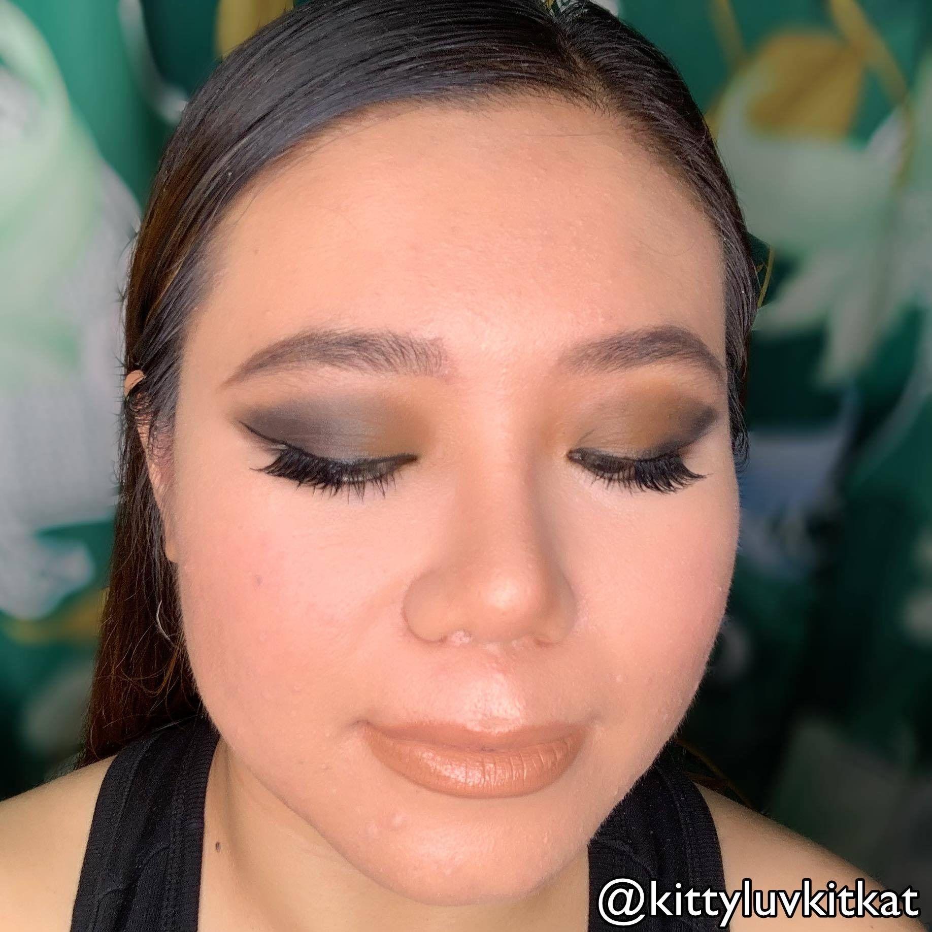 TiffanyD: Midnight Black Cat Eye Makeup Tutorial: Naked 2