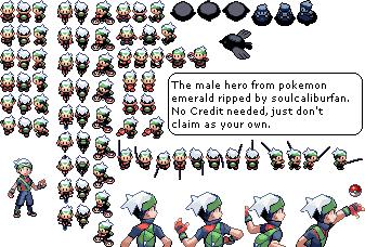 pokemon emerald sprites - Google Search | Art Style: Pixel ...