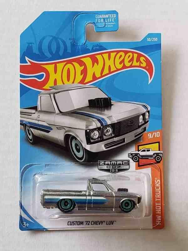 Hot Wheels 2109 Hw Hot Trucks Custom 72 Chevy Luv Zamac Fyg31