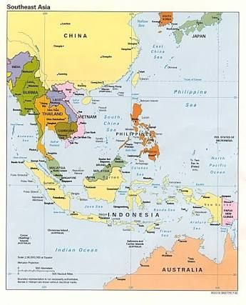 Map Of Southern And Eastern Asia.Map South East Asia Google Search Presents For Bears Pinterest