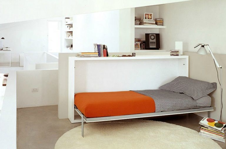 Twin Bed Folds Out Of A Desk E