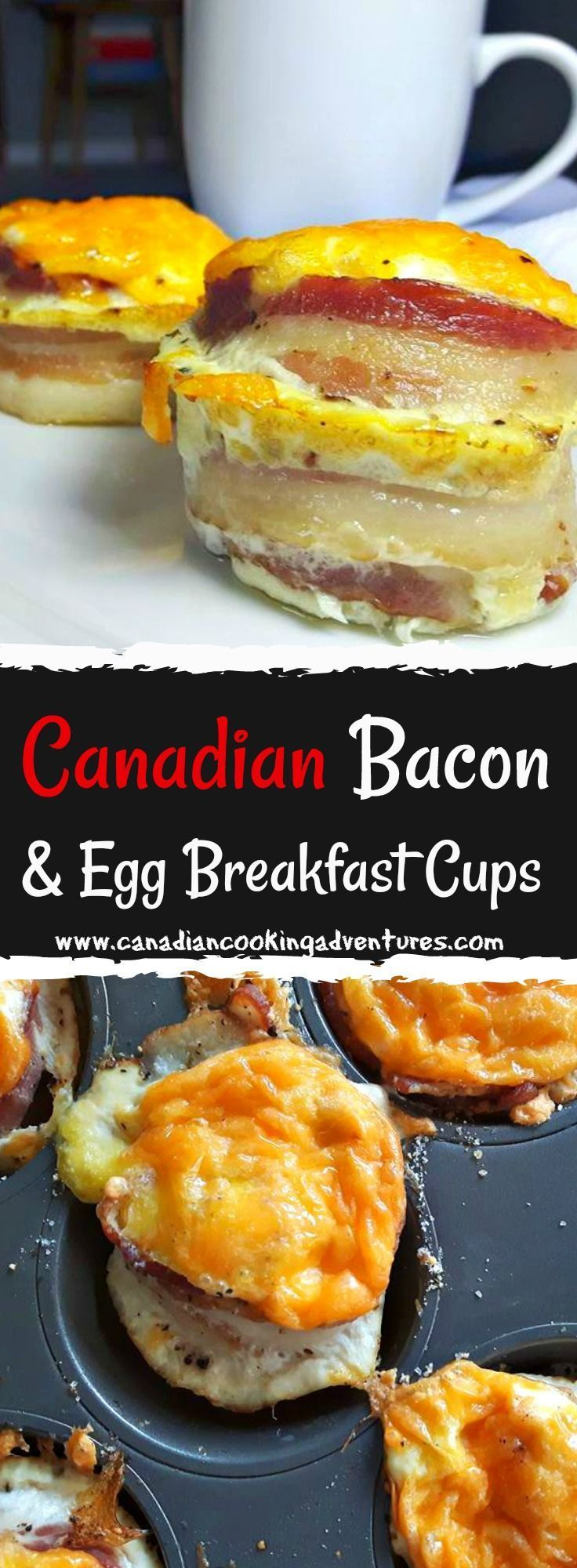 Canadian bacon egg cups recipe canadian bacon food