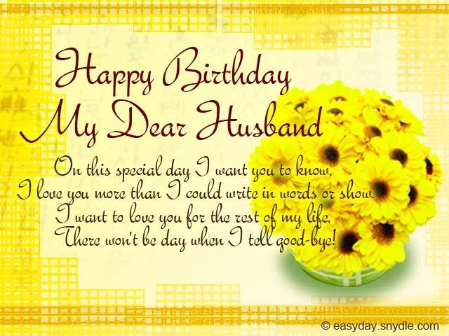Happy Birthday Message To Your Husband Hemmensland