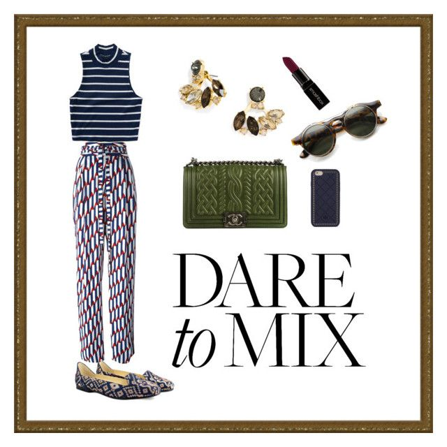 Pattern Mixing with Boté A Mano Flat Shoes - Midnight in Banaras