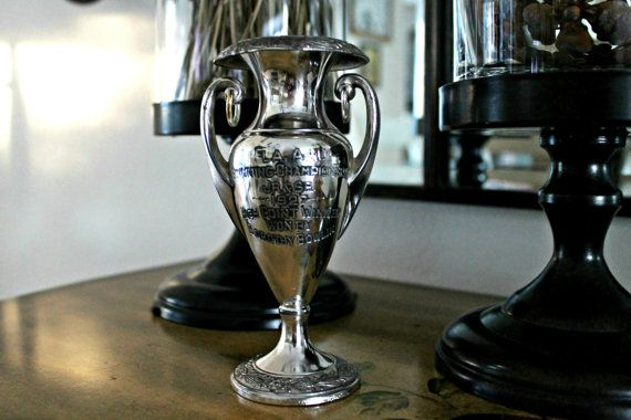 antique loving cup trophy 1927  FLA. A. A. U. by vintagearcheology