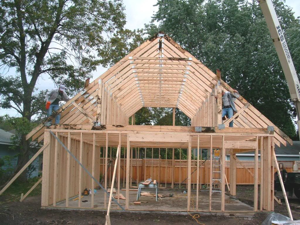 Walking Attic Trusses Google Search Attic Truss House Styles House