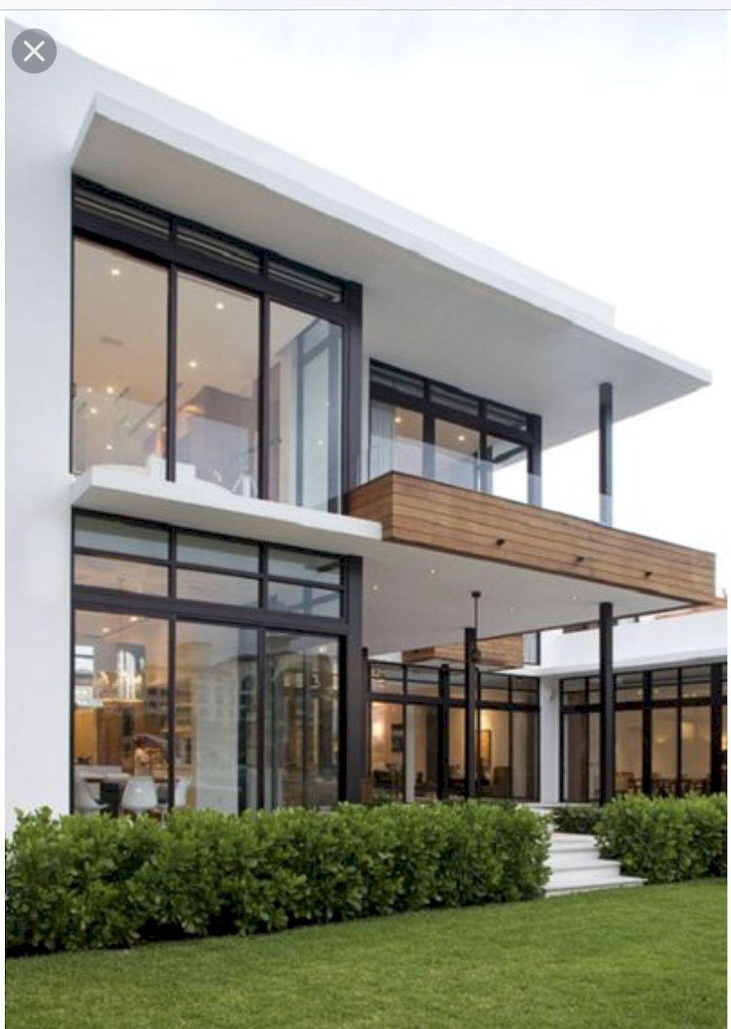 Nice 60 Spectacular Scandinavian House Design Exterior Storage Photo Https Carribeanpic Com 60 Modern House Design Modern Glass House Modern House Exterior