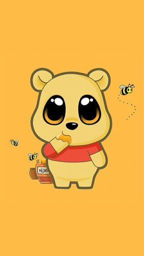 Animal Background Bear Bee Cute Cute Cartoon Wallpapers Cute Disney Wallpaper Cute Disney Drawings