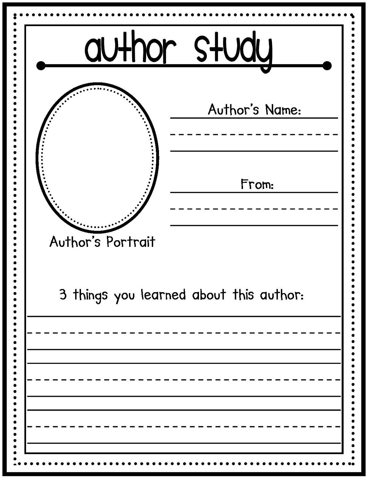 Kevin Henkes Author Study - lessons, ideas, printables ...