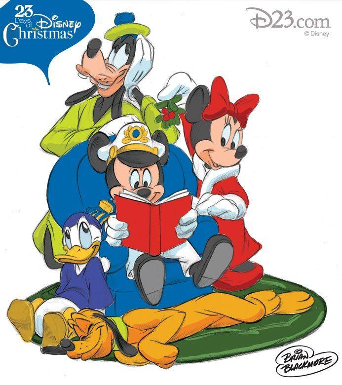 "Hidden ""holly-day"" Mickey #4: Art by Brian Blackmore, Principal Character Artist at Disney Design Group:"