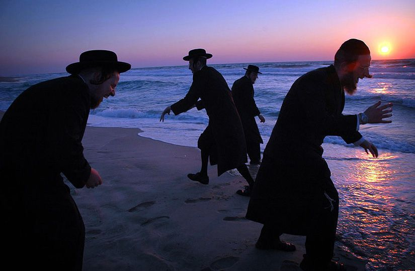 Zombie Jews On A Beach A Controversial Sunset