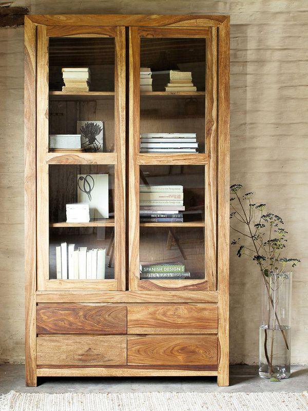 Todo a la vista vitrinas vitrinas salon vitrinas y la vista - Muebles cocina rusticos madera ...