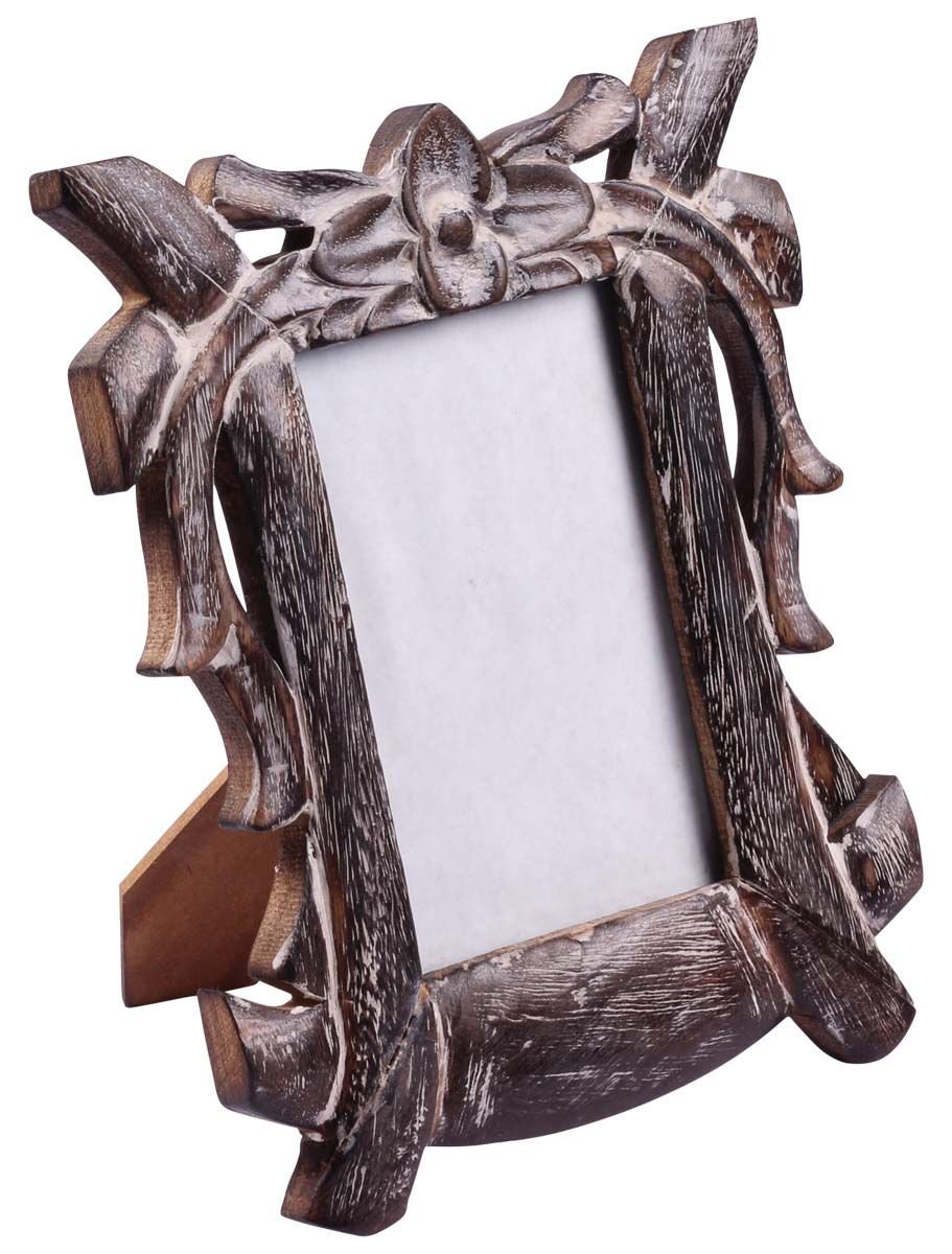 Bulk Buy Picture Frame Wholesale Handmade 4x6 Photo Frame In Wood Decorated With White Distres Handmade Photo Frames Unique Picture Frames Buy Picture Frames