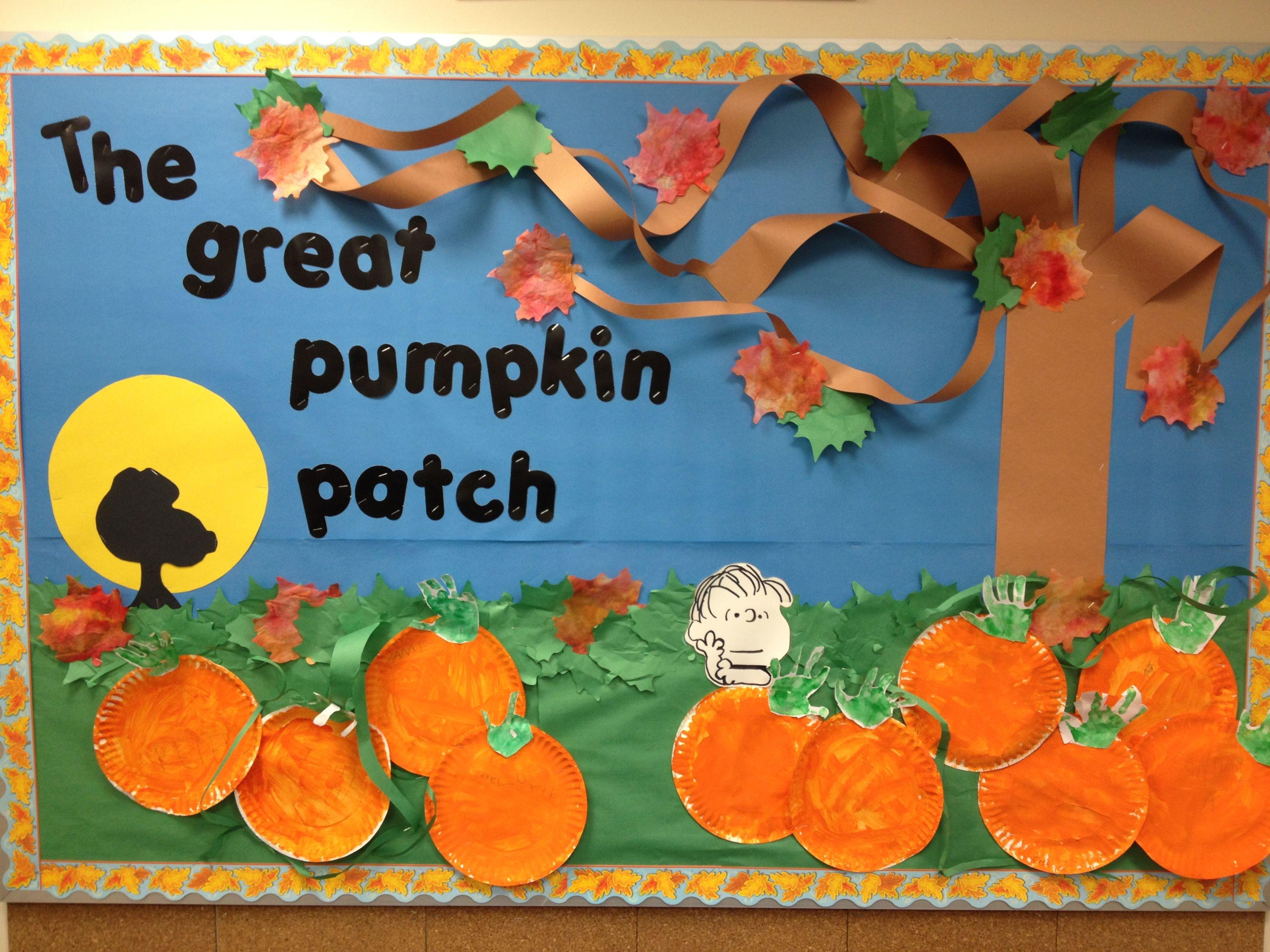 The Great Pumpkin Patch #pumpkinpatchbulletinboard
