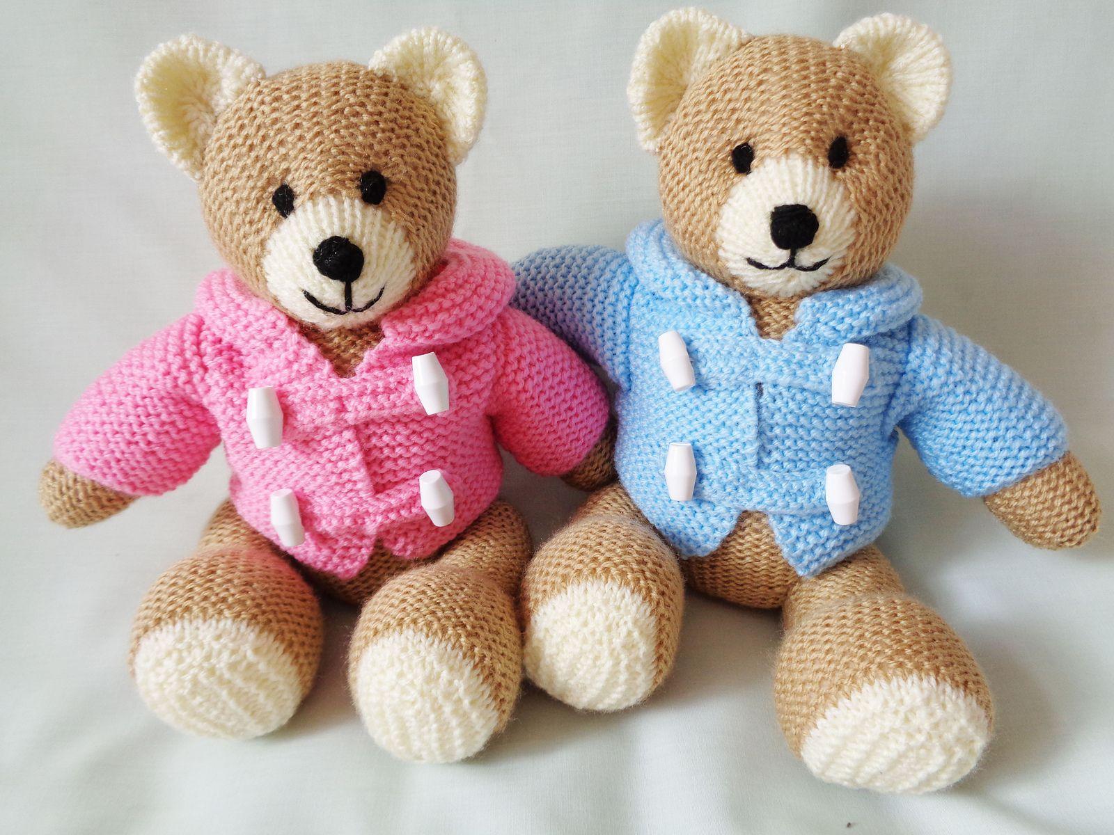 Little Dazzler Teddy Bear in 2020 | Teddy bear knitting ...