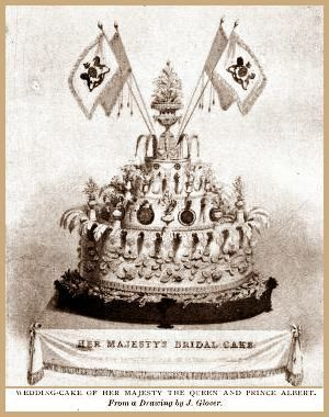 Wedding Cake Of Her Majesty The Queen And Prince Albert February 10