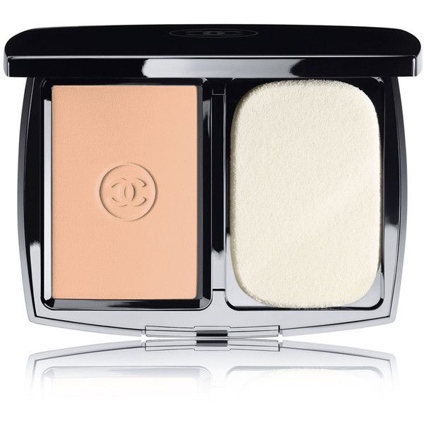 CHANEL DOUBLE PERFECTION LUMIÈRE Long-Wear Sunscreen Powder Makeup... (450 NOK) ❤ liked on Polyvore