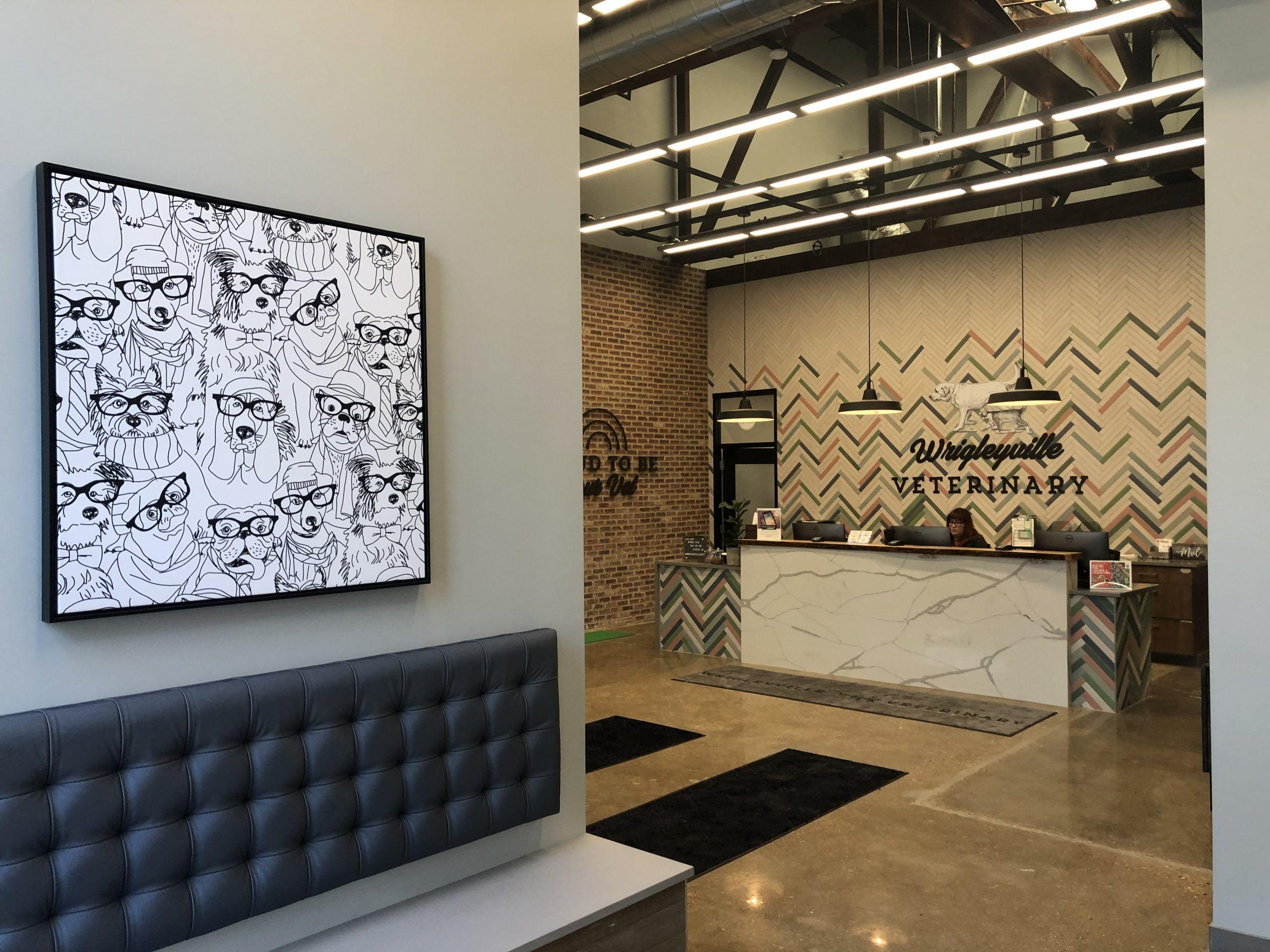 Wrigleyville Veterinary, Chicago IL RWE Design Build in