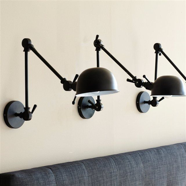 applique 2 bras tornade la redoute appliques et luminaires. Black Bedroom Furniture Sets. Home Design Ideas