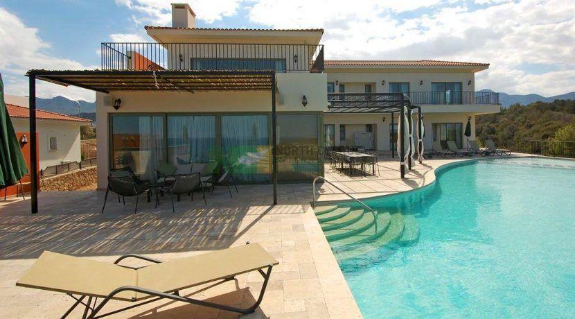 Esentepe Beachfront 500m2 7 Bed Golf Villa Beautiful