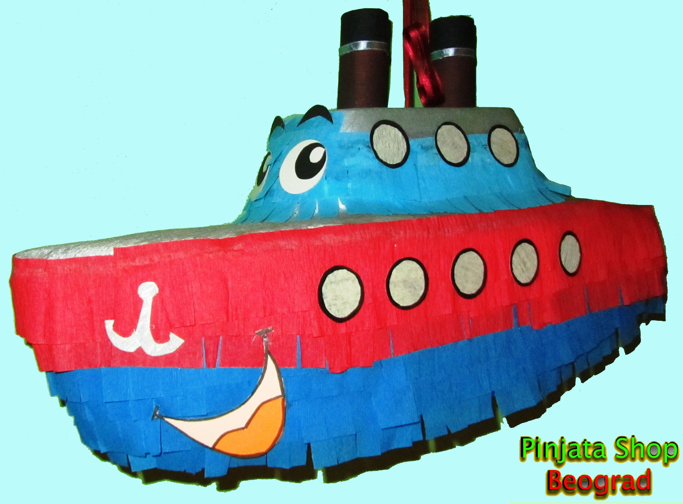 Google themes crvena zvezda - Pinata Boat