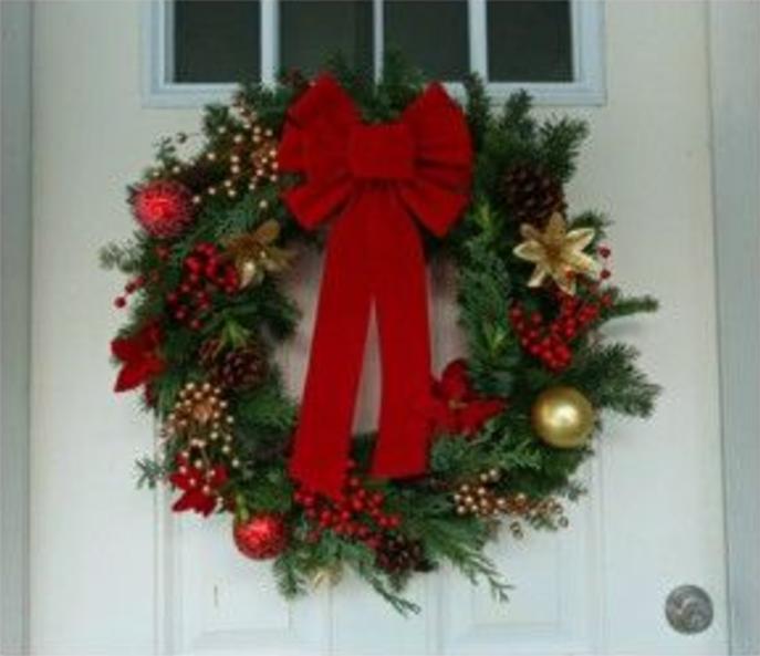 Pin By Carol Ellis On Door Wreaths Christmas Greenery Wreath Christmas Wreaths Diy Christmas Wreaths