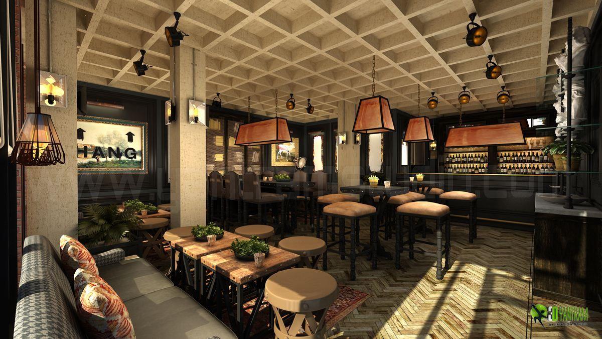 Commercial 3D #Interior Rendering #Bardesign Ideas