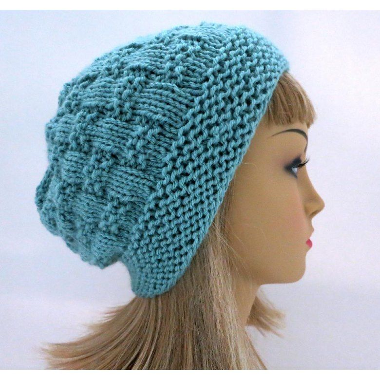 Adele - A Textured Slouch AND Toque Knitting pattern by ...