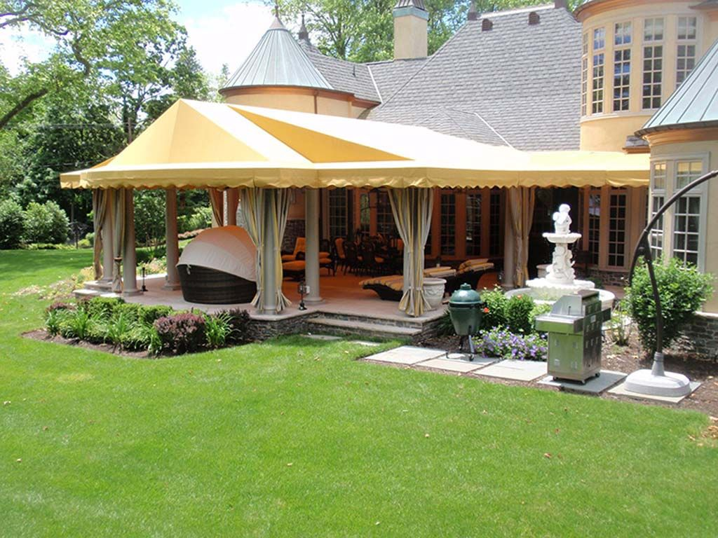 Jazz Up Your Landscaping And Outdoor Space With A Bit Of Canopy Coverage.  Near The