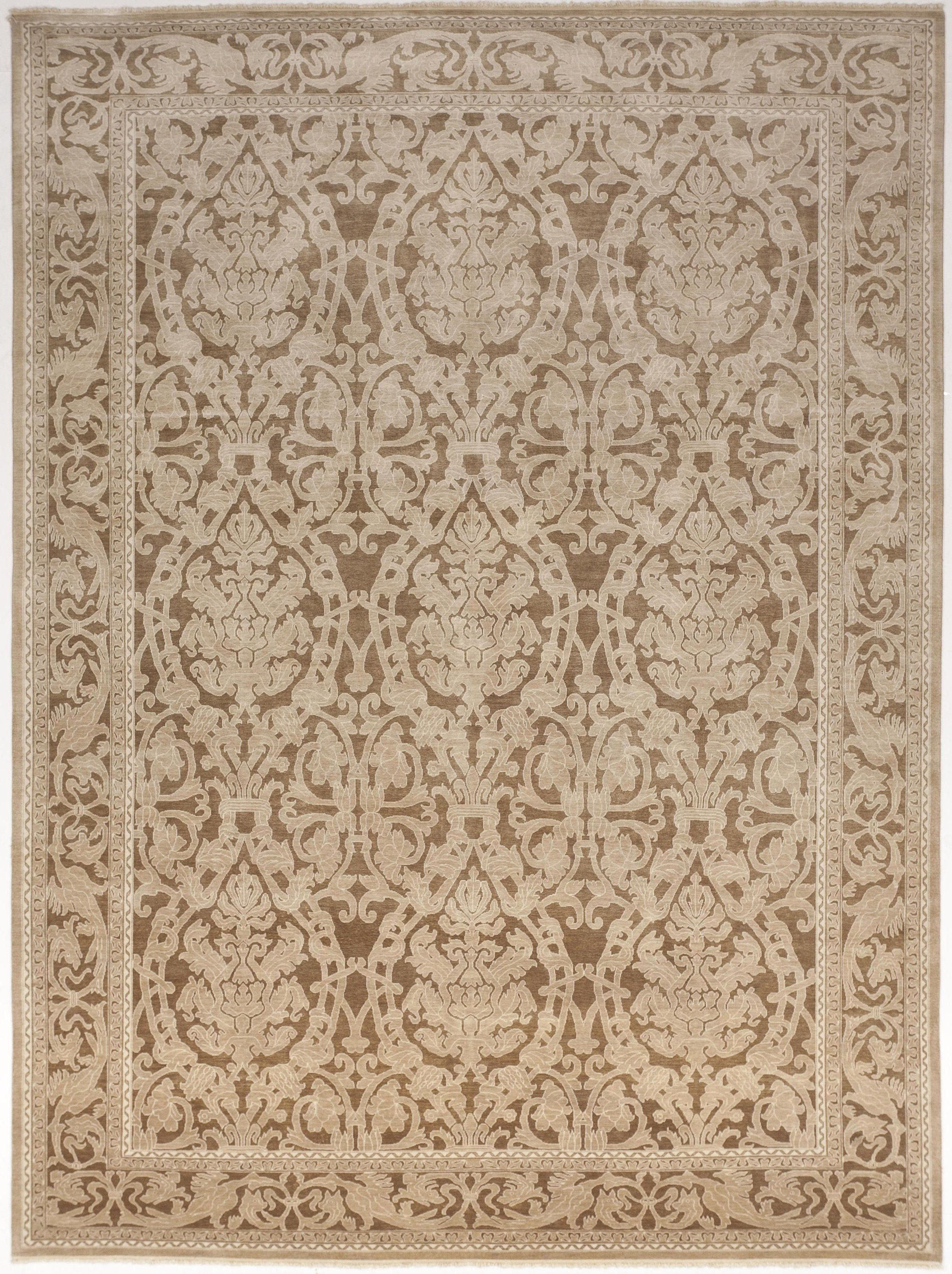 Genuine Hand Knotted Tone On Tone Rug Wool And Silk Pile Etsy Luxury Rug Rugs On Carpet Rugs Hand knotted wool rugs from india