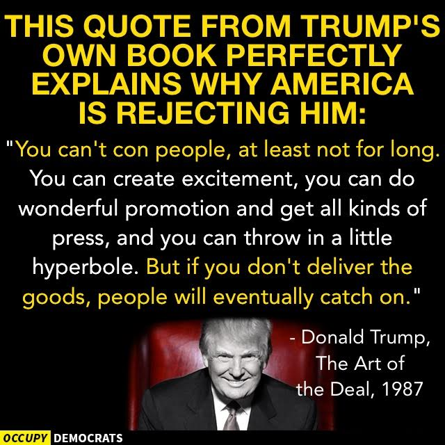 The Art Of The Deal Quotes Con Man Extraordinaire  Political Inspirations  Pinterest  Social