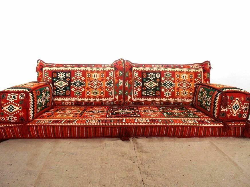Floor Seat Sofa Room Arabic Turkish Majilis Oriental Set ...