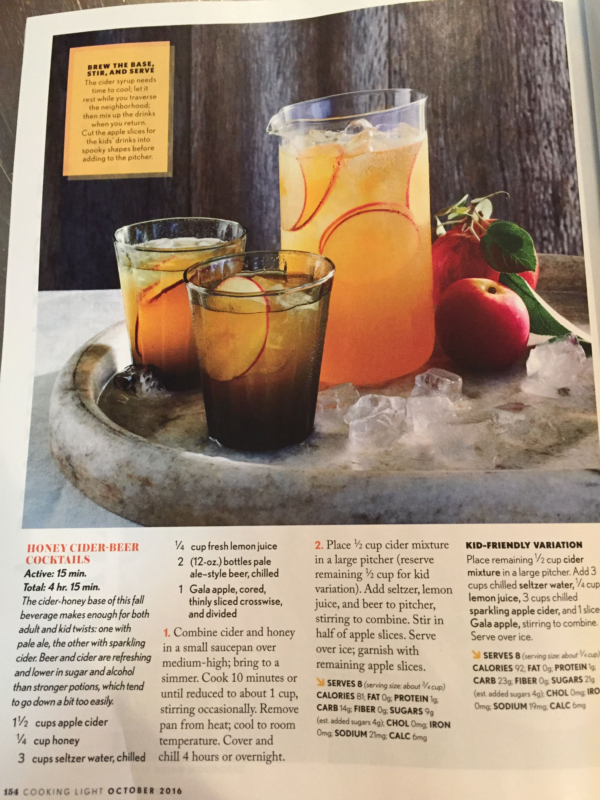 Pin by Taryn Gall on Drinks Cider cocktails, How to make