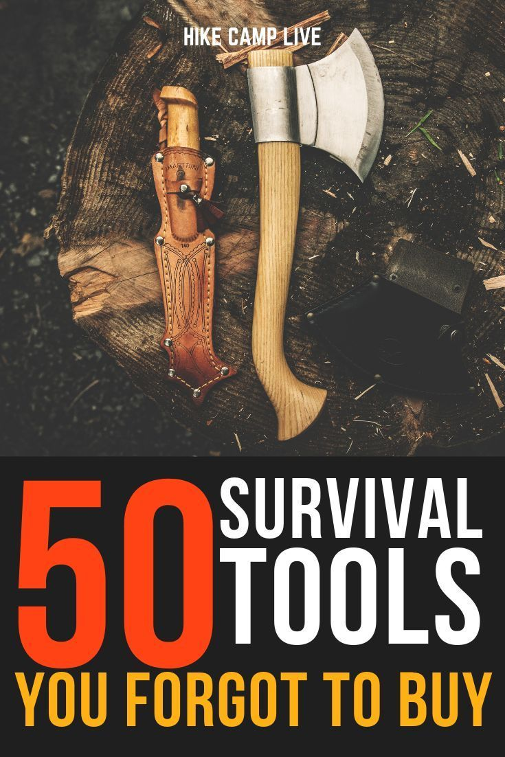 50 Survival Tools To Stay Alive After SHTF - HIKE CAMP LIVE