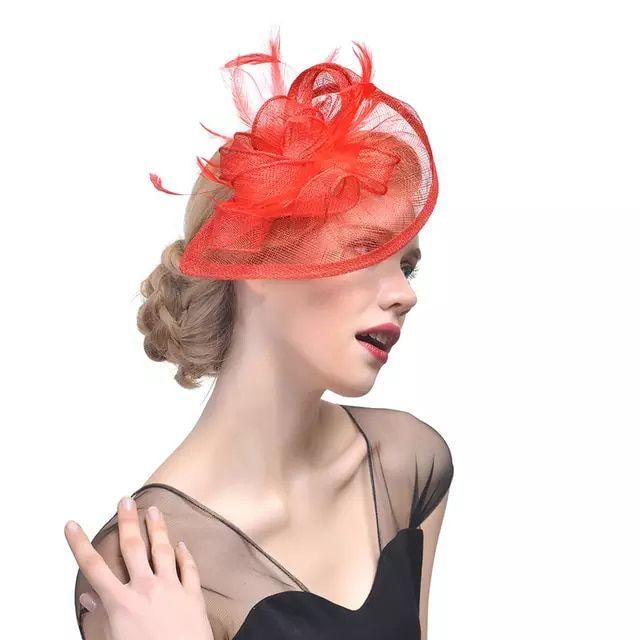 € 11.8 |Sombrero pastillero Fascinator de la pluma de amplia tiras de flor pelo Clip boda Iglesia sombrero de Derby de Kentucky, pelo accesorios para el cabello en Las mujeres sombreros de Accesorios de ropa en AliExpress.com | Alibaba Group